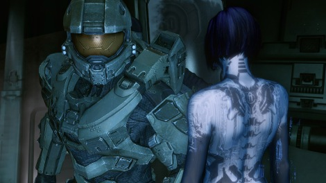 Master Chief and Cortana at it again.
