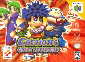 goemons adventure